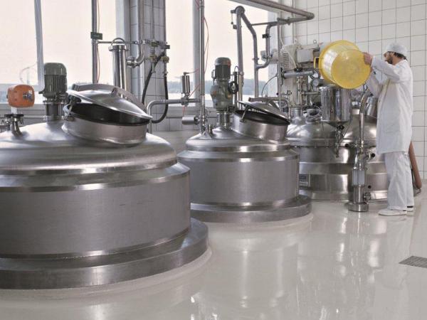 Extrem belastbare und rutschhemmende Beschichtung, welche alle hygienischen Anforderungen erfüllt.